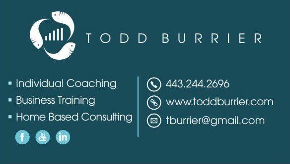 Tood Burrier Business Card Design Back