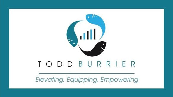 Tood Burrier Business Card Design Front