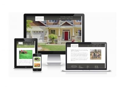 Website Design Advantage Lawn Care