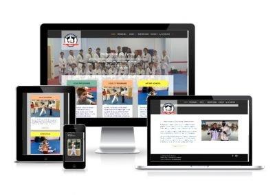 Website Design Empower Taekwondo