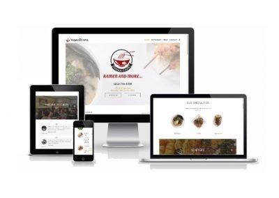 Website Design Hana Cafe