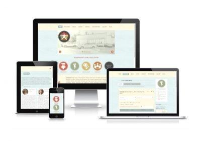 Website Design New Bern Art and Wellness Center