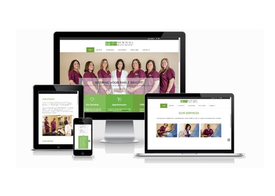 Website Design New Bern Family Dentistry