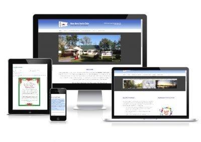 Website Design New Bern Yacht Club