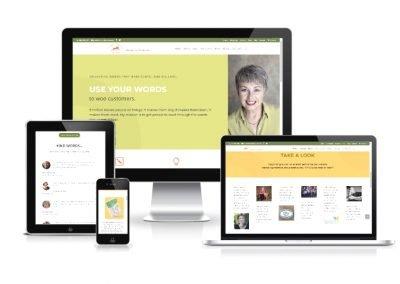 Website Design The Reactive Voice