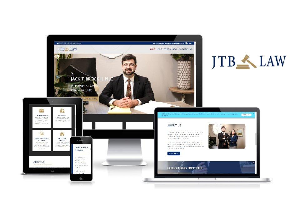 JTB Law PLLC Website and Logo Design