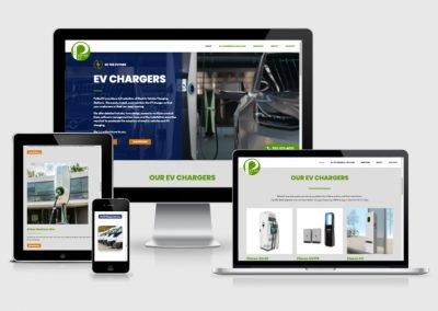 Potter EV Responsive Website for oil and EV company